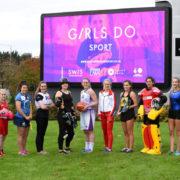 Basketball participates in Girls Do Sport initiative